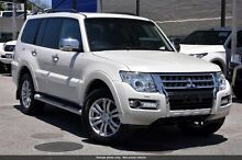 2015 Mitsubishi Pajero NX MY16 Exceed White 5 Speed Sports Automatic Wagon Wilson Canning Area Preview