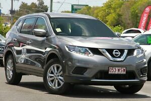 2016 Nissan X-Trail T32 TS X-tronic 2WD Gun Metallic 7 Speed Constant Variable Wagon Hillcrest Logan Area Preview