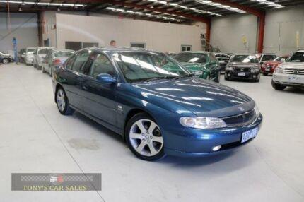 2001 Holden Calais VX International Blue Sedan