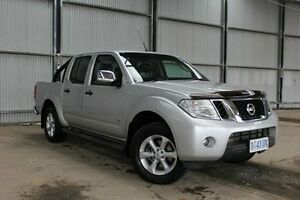 2014 Nissan Navara D40 S5 MY12 ST-X 550 Silver 7 Speed Sports Automatic Utility Derwent Park Glenorchy Area Preview
