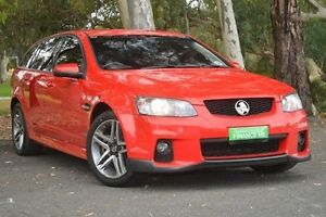 2011 Holden Commodore VE II SV6 Sportwagon Red 6 Speed Sports Automatic Wagon Valley View Salisbury Area Preview