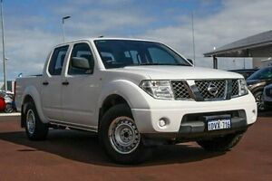 2011 Nissan Navara D40 MY11 RX White 5 Speed Automatic Utility East Rockingham Rockingham Area Preview