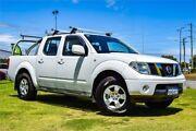 2010 Nissan Navara D40 ST (4x4) White 6 Speed Manual Dual Cab Pick-up Greenfields Mandurah Area Preview