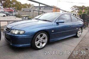 2001 Holden Monaro V2 CV8 Blue 6 Speed Manual Coupe Fawkner Moreland Area Preview