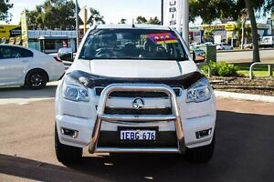 2012 Holden Colorado RG MY13 LTZ Crew Cab White 6 Speed Sports Automatic Utility Wilson Canning Area Preview