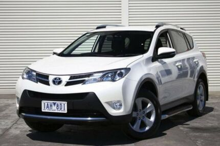 2013 Toyota RAV4 ALA49R GXL AWD White 6 Speed Sports Automatic Wagon