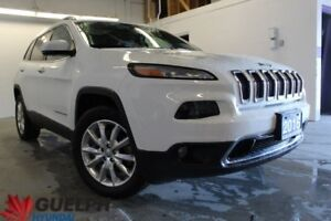 2016 Jeep Cherokee Limited NAV | SUNROOF | LEATHER & MORE
