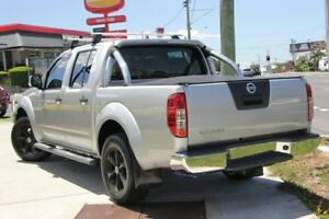 2014 Nissan Navara D40 S7 ST Silver 6 Speed Manual Utility