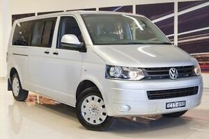 2011 Volkswagen Caravelle T5 MY11 LWB DSG Silver 7 Speed Sports Automatic Dual Clutch Wagon Blacktown Blacktown Area Preview