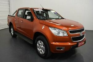2015 Holden Colorado RG MY15 LTZ Crew Cab Orange Manual Utility Moorabbin Kingston Area Preview