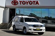 2011 Toyota Hilux GGN15R MY12 SR White 5 Speed Automatic Utility Old Guildford Fairfield Area Preview