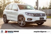 2017 Volkswagen Tiguan Highline 4MOTION AWD, PANO ROOF, LEATHER, Vancouver Greater Vancouver Area Preview