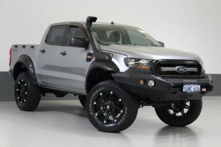 2016 Ford Ranger PX MkII XLS 3.2 (4x4) Silver 6 Speed Automatic Dual Cab Utility