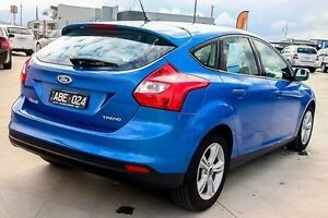 2014 Ford Focus Blue Sports Automatic Dual Clutch Hatchback Traralgon Latrobe Valley Preview