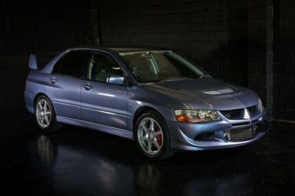 2003 Mitsubishi Lancer Evolution VIII Grey Manual Sedan