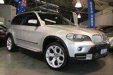 2008 BMW X5 E70 3.0D Executive Sparkling Silver 6 Speed Steptronic Wagon Victoria Park Victoria Park Area Preview