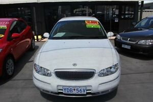 2001 Holden Statesman WH V6 White 4 Speed Automatic Sedan Mitchell Gungahlin Area Preview