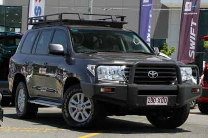2012 Toyota Landcruiser VDJ200R MY10 GXL Grey 6 Speed Sports Automatic Wagon