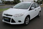 2012 Ford Focus LW MKII Ambiente PwrShift White 6 Speed Sports Automatic Dual Clutch Sedan Tottenham Maribyrnong Area Preview
