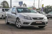 2008 Ford Falcon FG G6 Silver 5 Speed Sports Automatic Sedan Gympie Gympie Area Preview