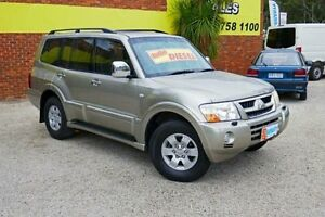 2003 Mitsubishi Pajero NP Exceed Gold 5 Speed Automatic Wagon Upper Ferntree Gully Knox Area Preview