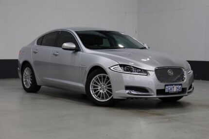 2012 Jaguar XF MY12 3.0 V6 Luxury Silver 6 Speed Automatic Sedan Bentley Canning Area Preview