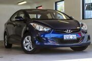 2012 Hyundai Elantra MD Active Blue 6 Speed Sports Automatic Sedan Melville Melville Area Preview