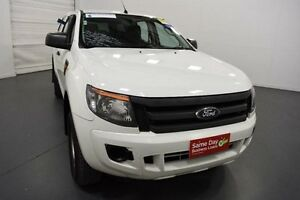 2013 Ford Ranger PX XLT Super Cab 4x2 Cool White Sports Automatic Utility Moorabbin Kingston Area Preview