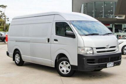 2007 Toyota Hiace Silver Automatic Van