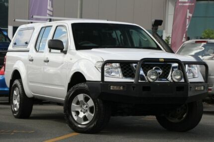 2011 Nissan Navara D40 RX White 6 Speed Manual Utility