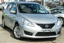2014 Nissan Pulsar C12 ST Silver 1 Speed Constant Variable Hatchback Blacktown Blacktown Area Preview