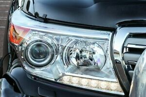 2012 Toyota Landcruiser VDJ200R MY12 Sahara Black 6 Speed Sports Automatic Wagon Wangara Wanneroo Area Preview