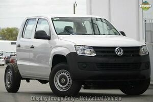 2012 Volkswagen Amarok 2H MY13 TDI420 4Motion Perm White 8 Speed Automatic Cab Chassis Dandenong Greater Dandenong Preview