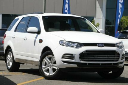 2014 Ford Territory SZ TX Seq Sport Shift White 6 Speed Sports Automatic Wagon Nundah Brisbane North East Preview