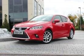 2014 64 LEXUS CT 200H 1.8 200H ADVANCE 5D AUTO
