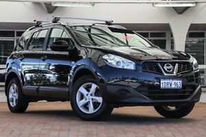 2011 Nissan Dualis J10 Series II MY2010 +2 Hatch X-tronic ST Black 6 Speed Constant Variable Willagee Melville Area Preview
