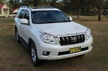 2013 Toyota Landcruiser KDJ150R 11 Upgrade Altitude (4x4) White 5 Speed Sequential Auto Wagon South Maitland Maitland Area Preview