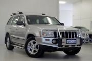 2006 Jeep Grand Cherokee WH MY2006 Limited Navigator Silver 5 Speed Automatic Wagon Myaree Melville Area Preview