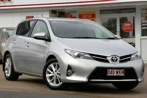 2014 Toyota Corolla ZRE182R Ascent Sport S-CVT Silver Pearl 7 Speed Constant Variable Hatchback Woolloongabba Brisbane South West Preview