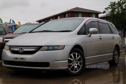 2008 Honda Odyssey 3rd Gen MY07 Luxury Silver 5 Speed Sports Automatic Wagon