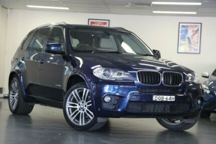 2013 BMW X5 E70 Blue Sports Automatic Wagon