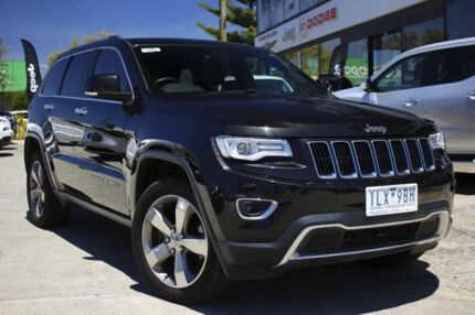 2013 Jeep Grand Cherokee WK MY2014 Limited Brilliant Black Crystal Pearl 8 Speed Sports Automatic