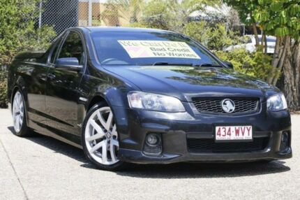 2011 Holden Ute VE II MY12 SV6 Black 6 Speed Manual Utility