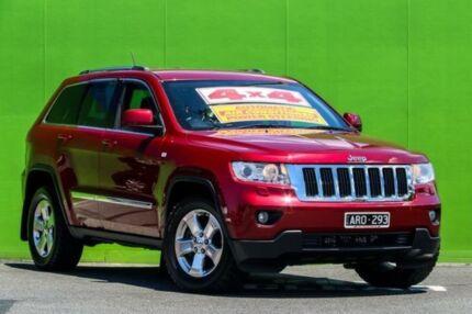 2012 Jeep Grand Cherokee WK MY2012 Laredo Red 5 Speed Sports Automatic Wagon