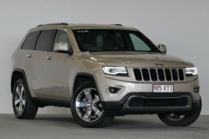2015 Jeep Grand Cherokee WK MY15 Limited (4x4) Gold 8 Speed Automatic Wagon