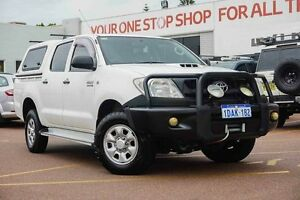 2008 Toyota Hilux KUN26R MY09 SR White 5 Speed Manual Utility Westminster Stirling Area Preview
