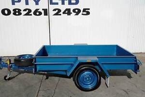 KESSNER TRAILER 7X4 HEAVY DUTY COMMERCIAL SINGLE AXLE BOX TRAILER Pooraka Salisbury Area Preview