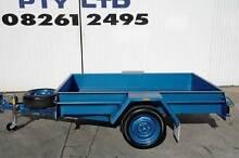 KESSNER TRAILER 7X4 HEAVY DUTY COMMERCIAL SINGLE AXLE BOX TRAILER Pooraka Salisbury Area Preview