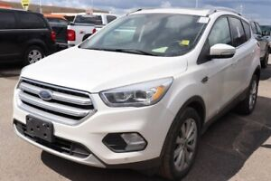 2017 Ford Escape Titanium - Htd Leather, S.Roof, Pwr Lift Gate,