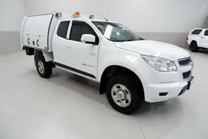 2014 Holden Colorado RG MY14 LX Space Cab White 6 Speed Sports Automatic Cab Chassis Kenwick Gosnells Area Preview